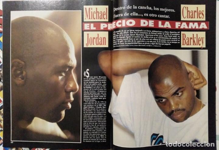 Coleccionismo deportivo: Michael Jordan - 13 revistas Gigantes del basket (1991-1994) - NBA - Foto 3 - 194906918