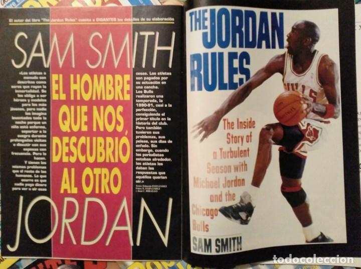 Coleccionismo deportivo: Michael Jordan - 13 revistas Gigantes del basket (1991-1994) - NBA - Foto 4 - 194906918