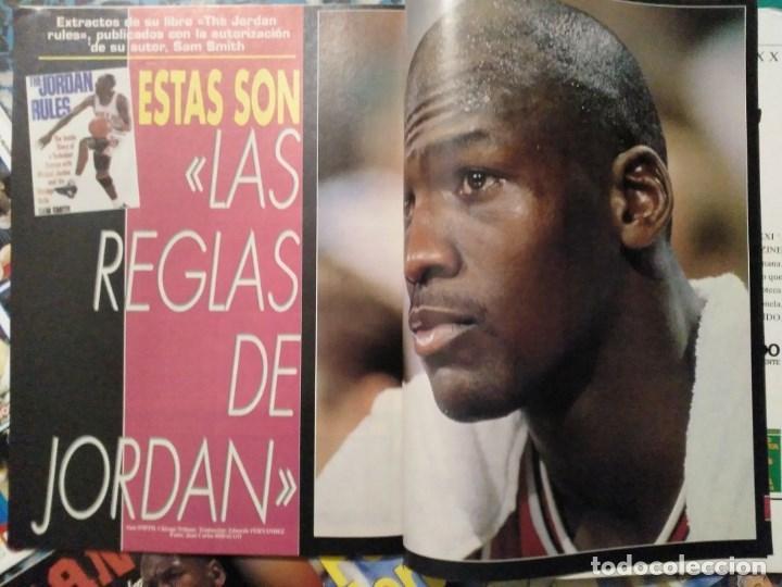 Coleccionismo deportivo: Michael Jordan - 13 revistas Gigantes del basket (1991-1994) - NBA - Foto 5 - 194906918
