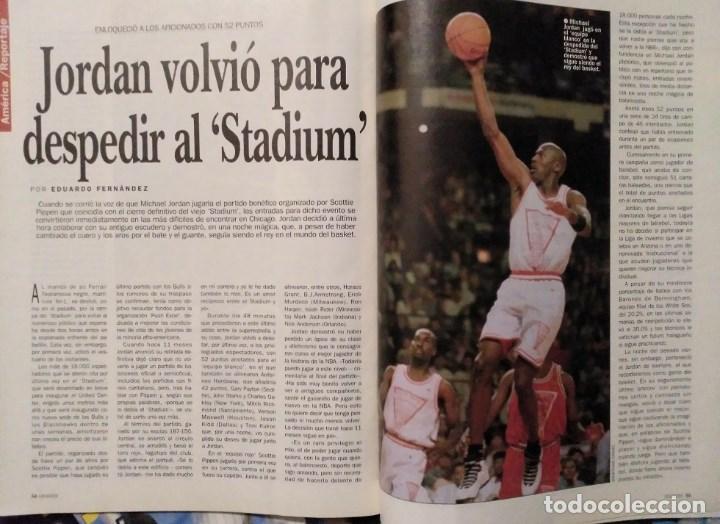 Coleccionismo deportivo: Michael Jordan - 13 revistas Gigantes del basket (1991-1994) - NBA - Foto 8 - 194906918