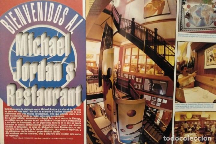 Coleccionismo deportivo: Michael Jordan - 13 revistas Gigantes del basket (1991-1994) - NBA - Foto 9 - 194906918