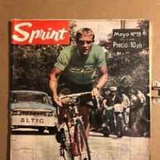 Coleccionismo deportivo: SPRINT N° 19 (MAYO 1963). REVISTA DE CICLISMO. NÚMERO EXTRAORDINARIO VULETA A ESPAÑA '63, BAHAMONTES. Lote 194965880