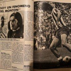 Coleccionismo deportivo: VIBERTI . CEREBRO DEL MALAGA . ENTREVISTA 3 PAGINAS . AÑO 1972. Lote 194967076