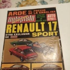 Coleccionismo deportivo: RENAULT 17. Lote 195049325