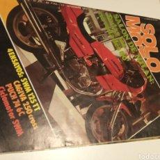 Coleccionismo deportivo: SOLO MOTO. Lote 195050925