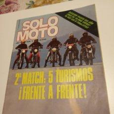 Coleccionismo deportivo: SOLO MOTO. Lote 195051648