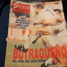 Coleccionismo deportivo: PERIÓDICO ABC BLANCO Y NEGRO RECORTES PÁGINAS BUTRAGUEÑO REAL MADRID 28 MAYO 1995. LEER. Lote 195056877