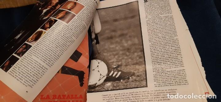 Coleccionismo deportivo: PERIÓDICO EL PAIS SEMANAL RECORTES PÁGINAS DEDICADAS AL MUNDIAL ITALIA FÚTBOL JUNIO 1990. LEER - Foto 4 - 195057573
