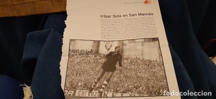 PERIODICO EL PAIS OBJETIVO RAÚL CANCIO FOTOGRAFIA IRIBAR FLOTA EN SAN MAMÉS ATH. BILBAO (Coleccionismo Deportivo - Revistas y Periódicos - otros Deportes)