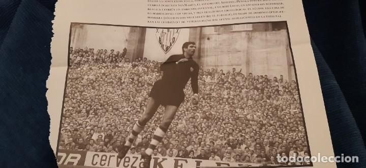 Coleccionismo deportivo: PERIODICO EL PAIS OBJETIVO RAÚL CANCIO FOTOGRAFIA IRIBAR FLOTA EN SAN MAMÉS ATH. BILBAO - Foto 2 - 195058018