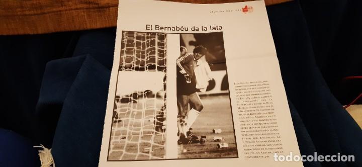 PERIODICO EL PAIS OBJETIVO RAÚL CANCIO FOTOGRAFIA ARCONADA EL BERNABÉU DA LA LATA (Coleccionismo Deportivo - Revistas y Periódicos - otros Deportes)
