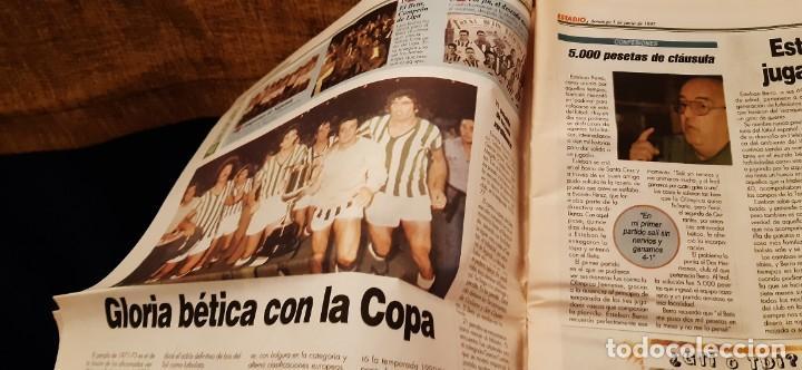 Coleccionismo deportivo: PERIODICO ESTADIO DEPORTIVO ESPECIAL REAL BETIS AYER Y HOY 1 JUNIO 1997 - Foto 2 - 195058156