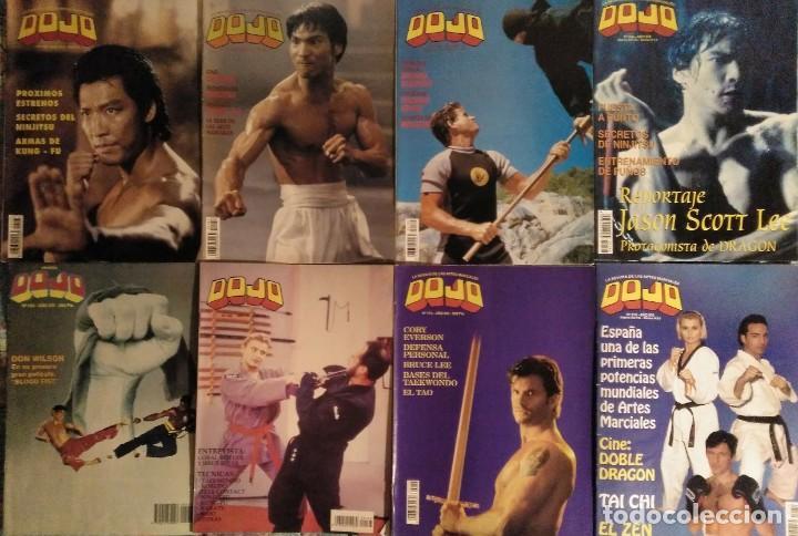Coleccionismo deportivo: Lote de 27 revistas de artes marciales Dojo - Foto 3 - 194096947
