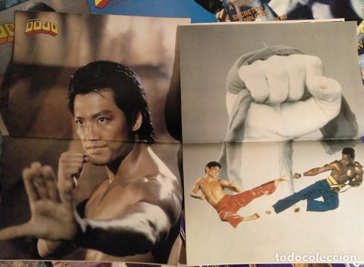 Coleccionismo deportivo: Lote de 27 revistas de artes marciales Dojo - Foto 4 - 194096947