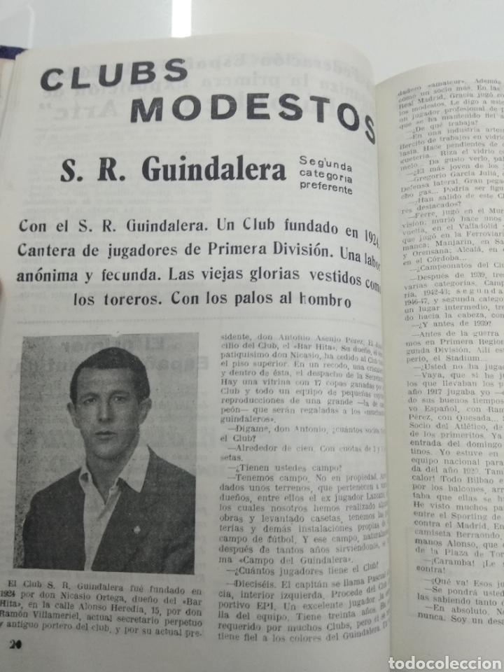 Coleccionismo deportivo: SEMANARIO DEPORTIVO POPULAR FUTBOL 1953 ENCUADERNADO N° 1 A 32p PORTADAS MUY RARO CICLISMO BOXEO ... - Foto 6 - 195128507