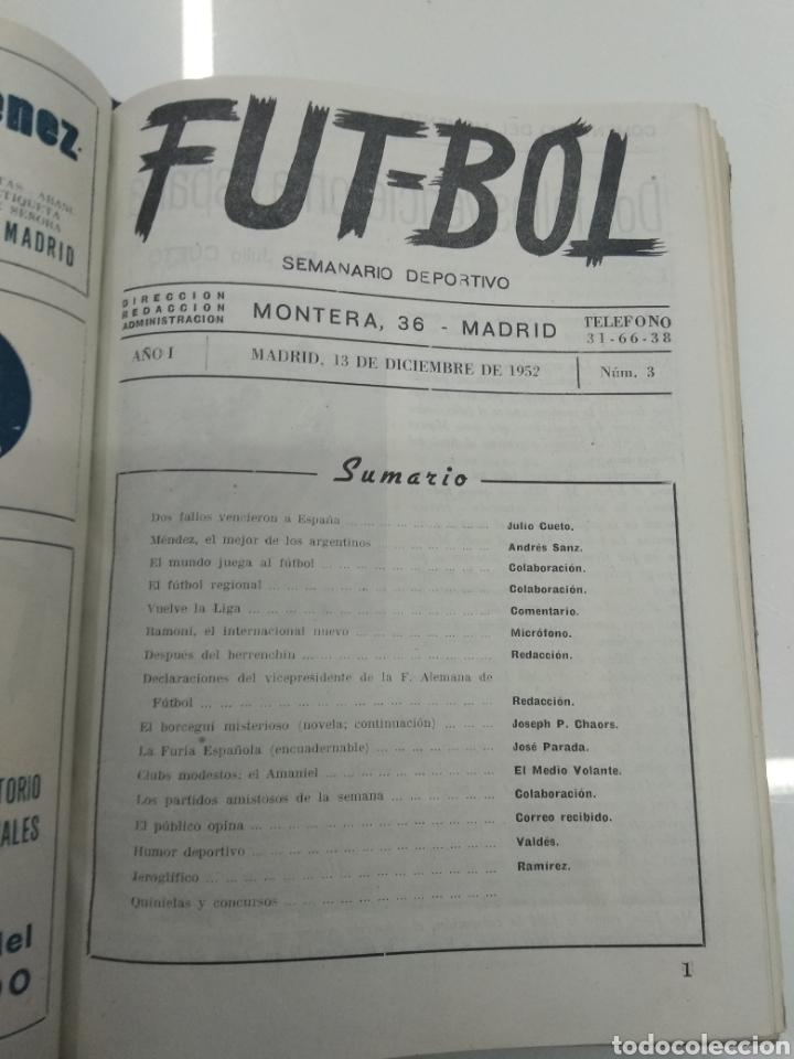 Coleccionismo deportivo: SEMANARIO DEPORTIVO POPULAR FUTBOL 1953 ENCUADERNADO N° 1 A 32p PORTADAS MUY RARO CICLISMO BOXEO ... - Foto 8 - 195128507
