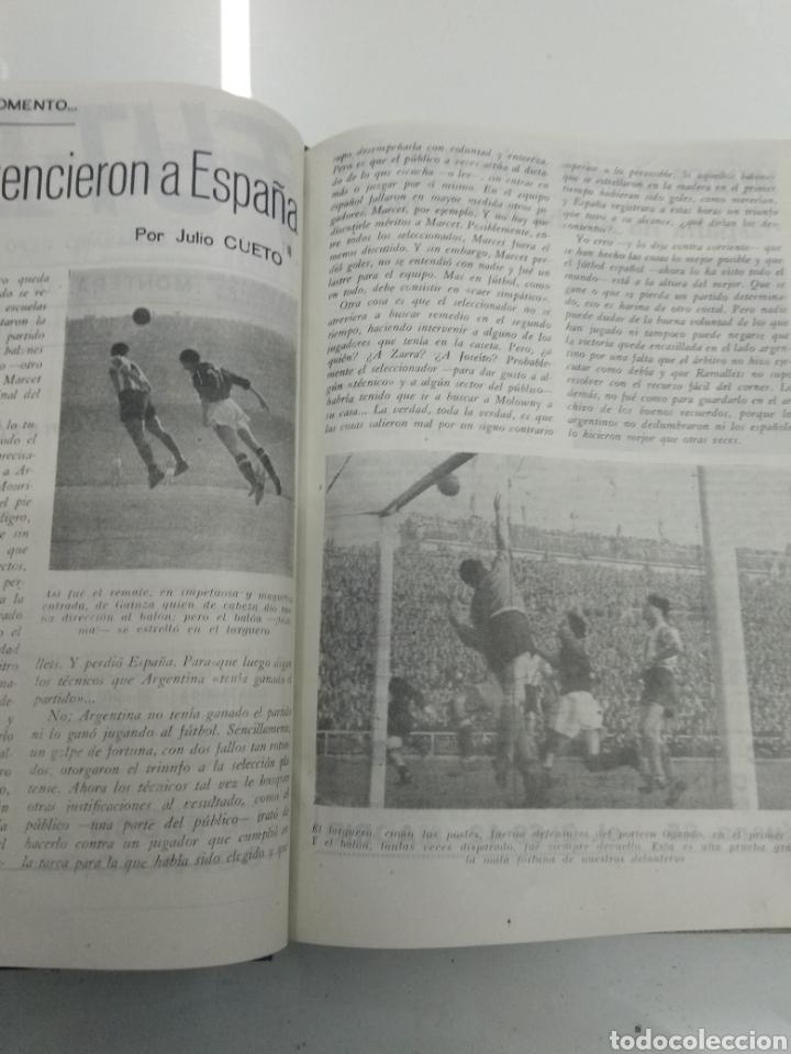 Coleccionismo deportivo: SEMANARIO DEPORTIVO POPULAR FUTBOL 1953 ENCUADERNADO N° 1 A 32p PORTADAS MUY RARO CICLISMO BOXEO ... - Foto 9 - 195128507