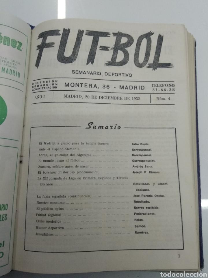 Coleccionismo deportivo: SEMANARIO DEPORTIVO POPULAR FUTBOL 1953 ENCUADERNADO N° 1 A 32p PORTADAS MUY RARO CICLISMO BOXEO ... - Foto 13 - 195128507
