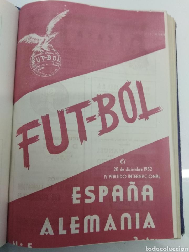 Coleccionismo deportivo: SEMANARIO DEPORTIVO POPULAR FUTBOL 1953 ENCUADERNADO N° 1 A 32p PORTADAS MUY RARO CICLISMO BOXEO ... - Foto 14 - 195128507