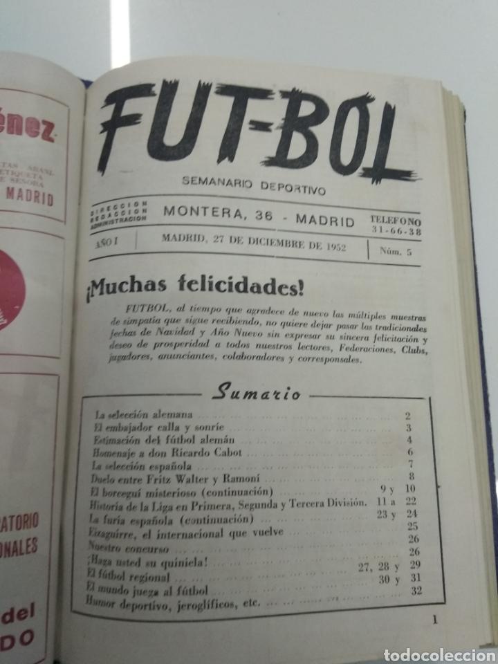 Coleccionismo deportivo: SEMANARIO DEPORTIVO POPULAR FUTBOL 1953 ENCUADERNADO N° 1 A 32p PORTADAS MUY RARO CICLISMO BOXEO ... - Foto 15 - 195128507