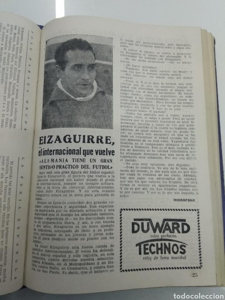 Coleccionismo deportivo: SEMANARIO DEPORTIVO POPULAR FUTBOL 1953 ENCUADERNADO N° 1 A 32p PORTADAS MUY RARO CICLISMO BOXEO ... - Foto 17 - 195128507