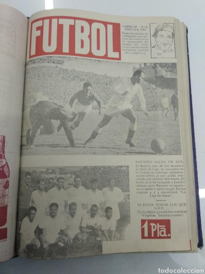 Coleccionismo deportivo: SEMANARIO DEPORTIVO POPULAR FUTBOL 1953 ENCUADERNADO N° 1 A 32p PORTADAS MUY RARO CICLISMO BOXEO ... - Foto 18 - 195128507