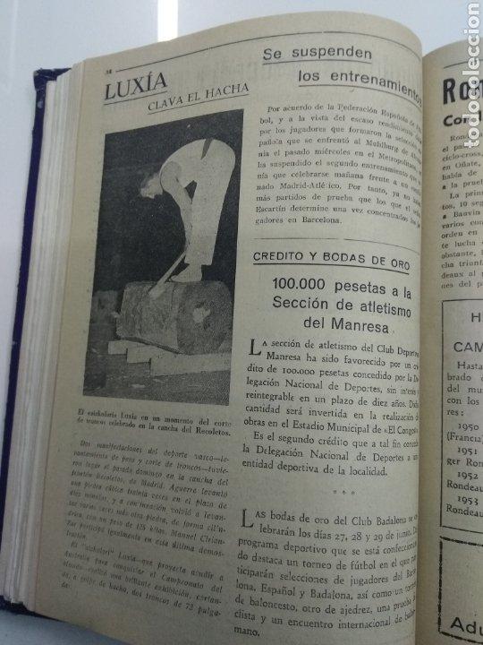 Coleccionismo deportivo: SEMANARIO DEPORTIVO POPULAR FUTBOL 1953 ENCUADERNADO N° 1 A 32p PORTADAS MUY RARO CICLISMO BOXEO ... - Foto 20 - 195128507