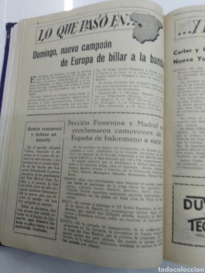 Coleccionismo deportivo: SEMANARIO DEPORTIVO POPULAR FUTBOL 1953 ENCUADERNADO N° 1 A 32p PORTADAS MUY RARO CICLISMO BOXEO ... - Foto 22 - 195128507