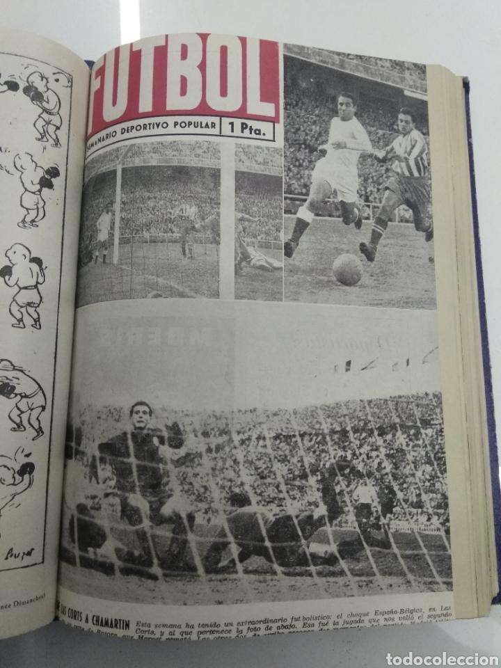 Coleccionismo deportivo: SEMANARIO DEPORTIVO POPULAR FUTBOL 1953 ENCUADERNADO N° 1 A 32p PORTADAS MUY RARO CICLISMO BOXEO ... - Foto 23 - 195128507