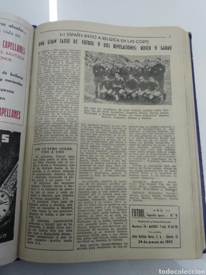 Coleccionismo deportivo: SEMANARIO DEPORTIVO POPULAR FUTBOL 1953 ENCUADERNADO N° 1 A 32p PORTADAS MUY RARO CICLISMO BOXEO ... - Foto 24 - 195128507