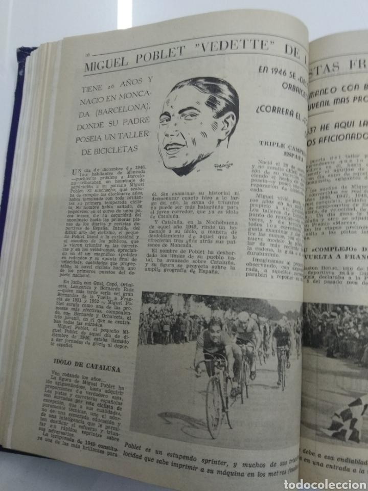 Coleccionismo deportivo: SEMANARIO DEPORTIVO POPULAR FUTBOL 1953 ENCUADERNADO N° 1 A 32p PORTADAS MUY RARO CICLISMO BOXEO ... - Foto 25 - 195128507