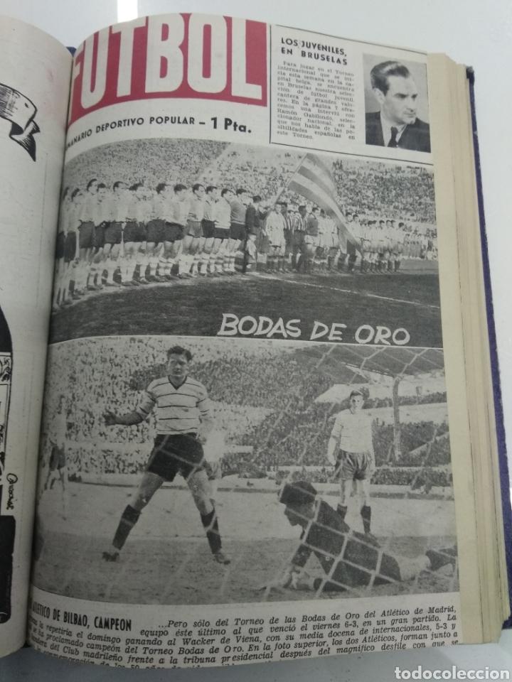 Coleccionismo deportivo: SEMANARIO DEPORTIVO POPULAR FUTBOL 1953 ENCUADERNADO N° 1 A 32p PORTADAS MUY RARO CICLISMO BOXEO ... - Foto 26 - 195128507