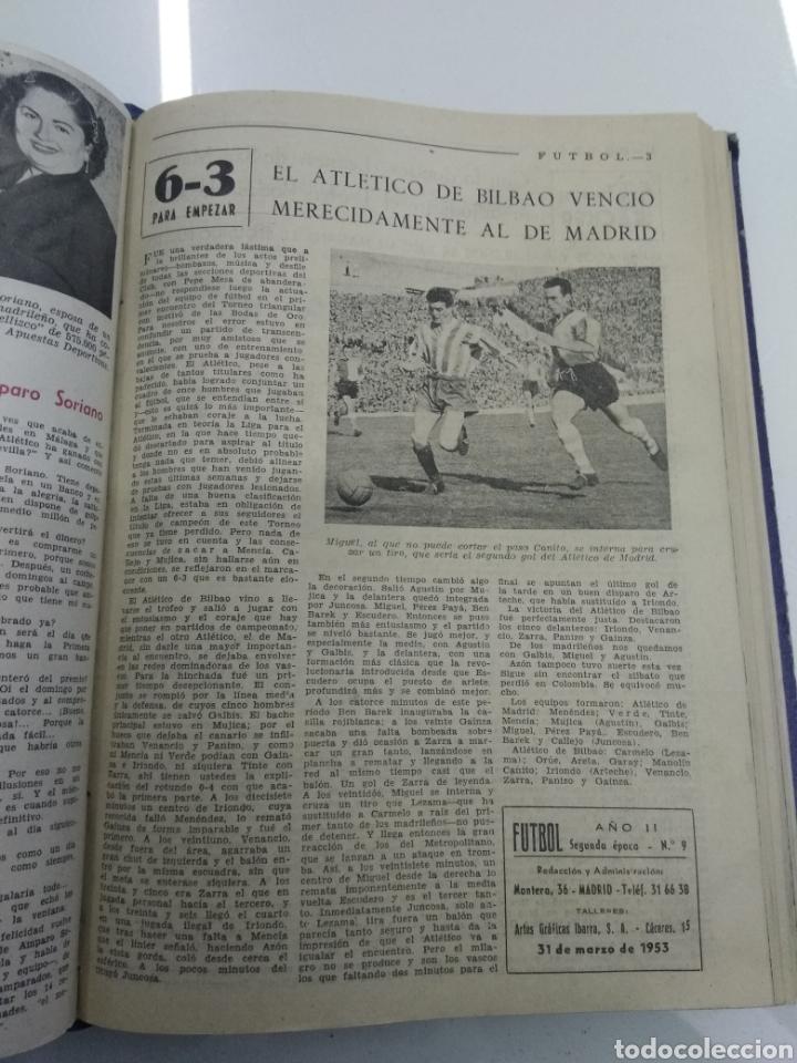 Coleccionismo deportivo: SEMANARIO DEPORTIVO POPULAR FUTBOL 1953 ENCUADERNADO N° 1 A 32p PORTADAS MUY RARO CICLISMO BOXEO ... - Foto 27 - 195128507