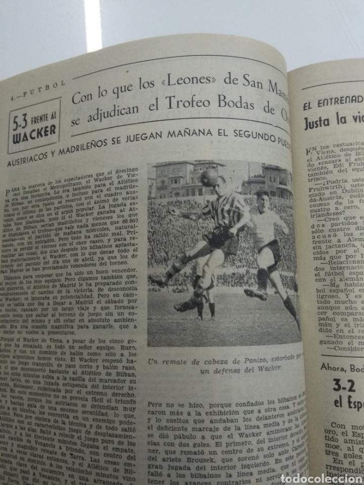 Coleccionismo deportivo: SEMANARIO DEPORTIVO POPULAR FUTBOL 1953 ENCUADERNADO N° 1 A 32p PORTADAS MUY RARO CICLISMO BOXEO ... - Foto 28 - 195128507