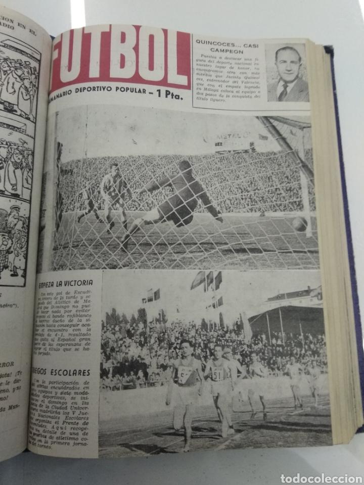 Coleccionismo deportivo: SEMANARIO DEPORTIVO POPULAR FUTBOL 1953 ENCUADERNADO N° 1 A 32p PORTADAS MUY RARO CICLISMO BOXEO ... - Foto 29 - 195128507