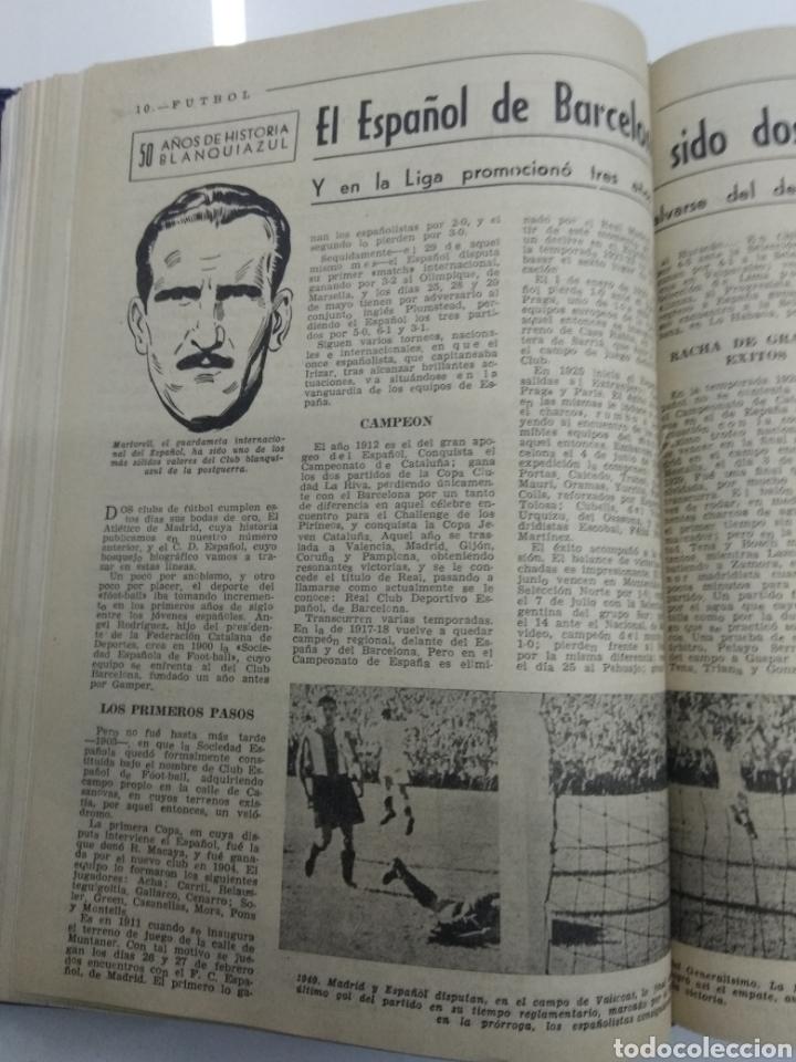 Coleccionismo deportivo: SEMANARIO DEPORTIVO POPULAR FUTBOL 1953 ENCUADERNADO N° 1 A 32p PORTADAS MUY RARO CICLISMO BOXEO ... - Foto 30 - 195128507