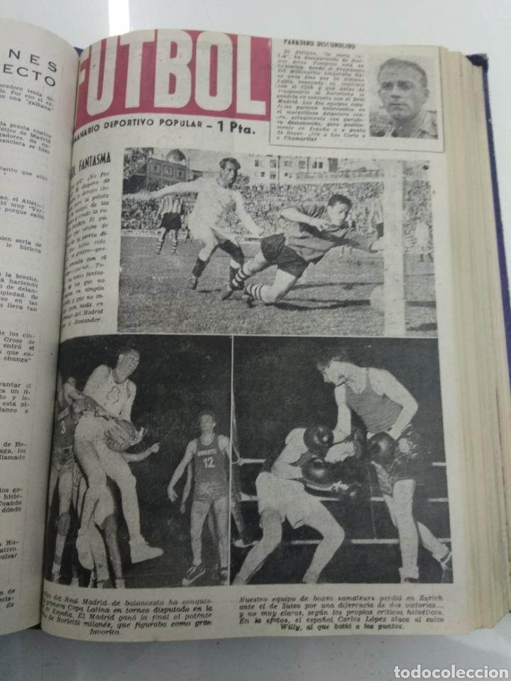 Coleccionismo deportivo: SEMANARIO DEPORTIVO POPULAR FUTBOL 1953 ENCUADERNADO N° 1 A 32p PORTADAS MUY RARO CICLISMO BOXEO ... - Foto 31 - 195128507