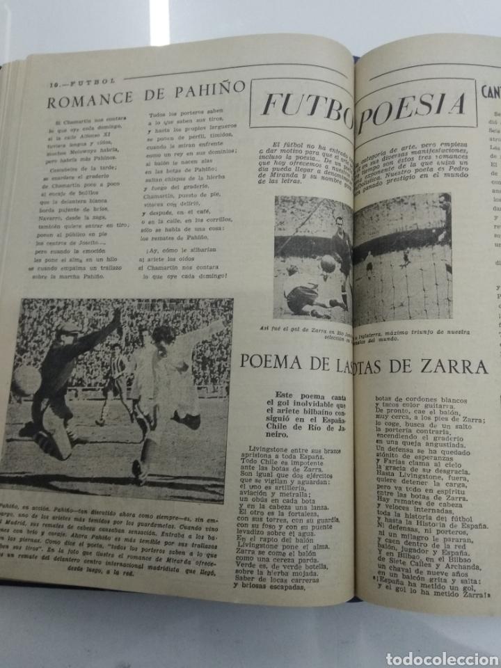 Coleccionismo deportivo: SEMANARIO DEPORTIVO POPULAR FUTBOL 1953 ENCUADERNADO N° 1 A 32p PORTADAS MUY RARO CICLISMO BOXEO ... - Foto 32 - 195128507