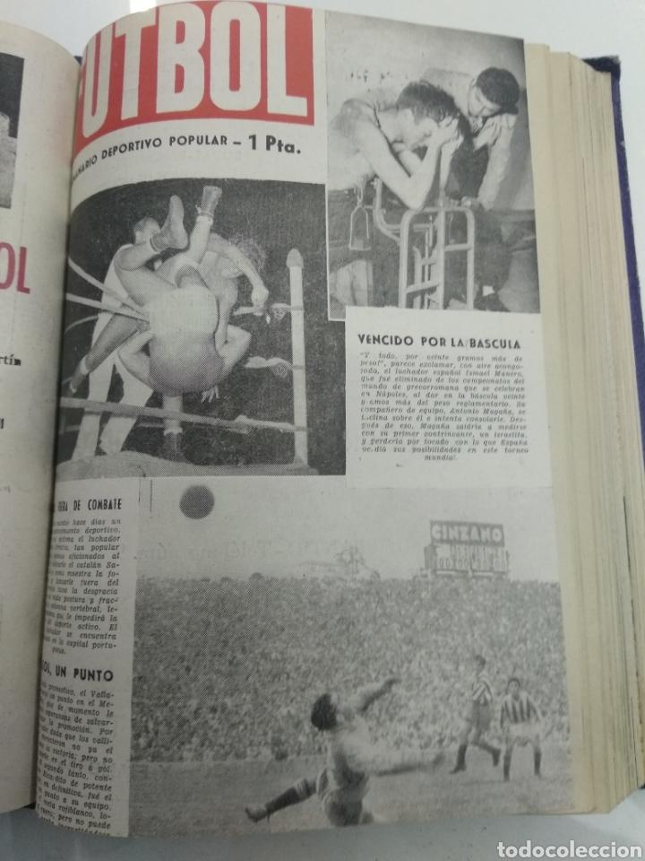 Coleccionismo deportivo: SEMANARIO DEPORTIVO POPULAR FUTBOL 1953 ENCUADERNADO N° 1 A 32p PORTADAS MUY RARO CICLISMO BOXEO ... - Foto 33 - 195128507