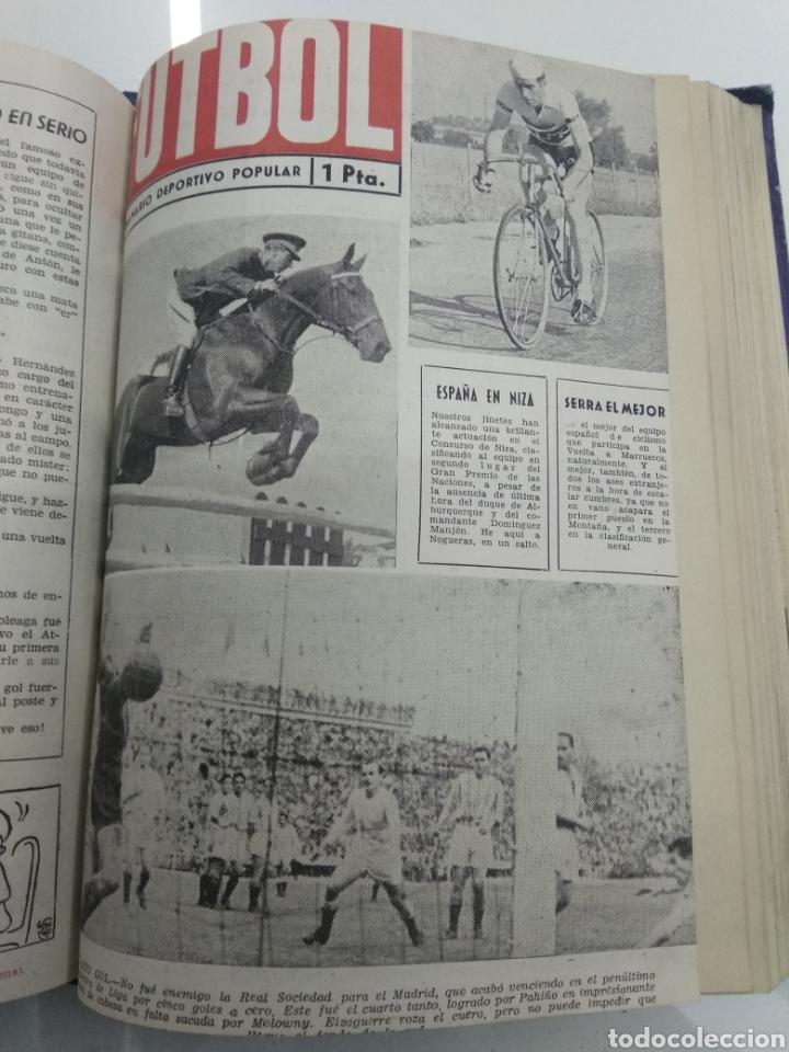 Coleccionismo deportivo: SEMANARIO DEPORTIVO POPULAR FUTBOL 1953 ENCUADERNADO N° 1 A 32p PORTADAS MUY RARO CICLISMO BOXEO ... - Foto 35 - 195128507