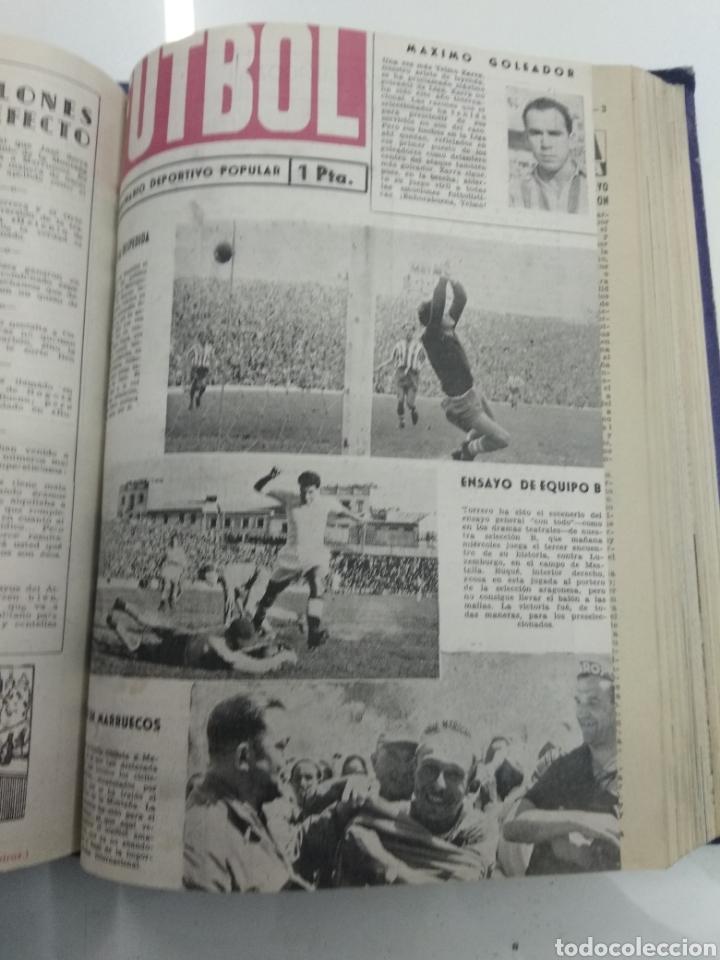 Coleccionismo deportivo: SEMANARIO DEPORTIVO POPULAR FUTBOL 1953 ENCUADERNADO N° 1 A 32p PORTADAS MUY RARO CICLISMO BOXEO ... - Foto 36 - 195128507