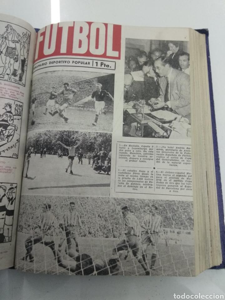 Coleccionismo deportivo: SEMANARIO DEPORTIVO POPULAR FUTBOL 1953 ENCUADERNADO N° 1 A 32p PORTADAS MUY RARO CICLISMO BOXEO ... - Foto 37 - 195128507