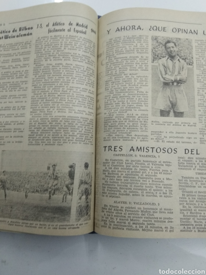 Coleccionismo deportivo: SEMANARIO DEPORTIVO POPULAR FUTBOL 1953 ENCUADERNADO N° 1 A 32p PORTADAS MUY RARO CICLISMO BOXEO ... - Foto 38 - 195128507