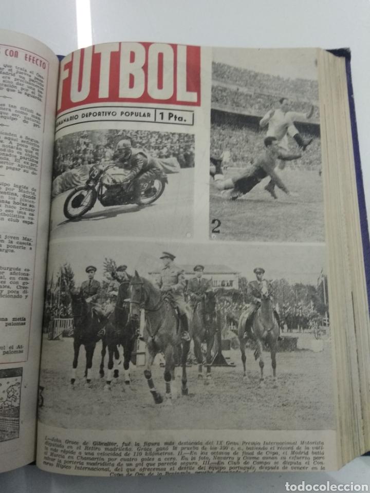 Coleccionismo deportivo: SEMANARIO DEPORTIVO POPULAR FUTBOL 1953 ENCUADERNADO N° 1 A 32p PORTADAS MUY RARO CICLISMO BOXEO ... - Foto 39 - 195128507
