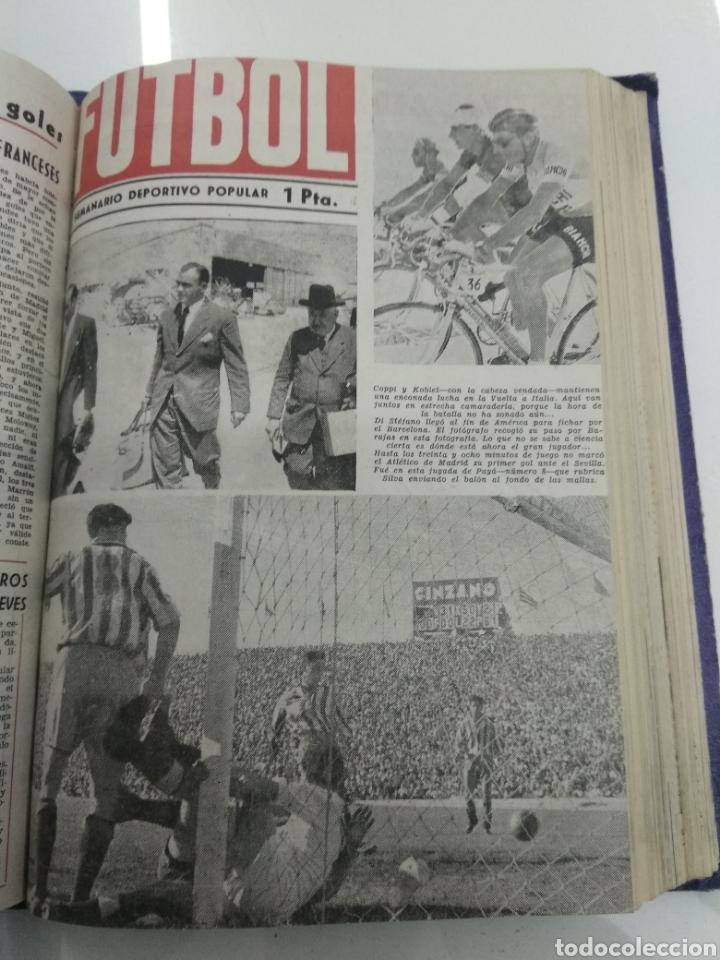 Coleccionismo deportivo: SEMANARIO DEPORTIVO POPULAR FUTBOL 1953 ENCUADERNADO N° 1 A 32p PORTADAS MUY RARO CICLISMO BOXEO ... - Foto 41 - 195128507