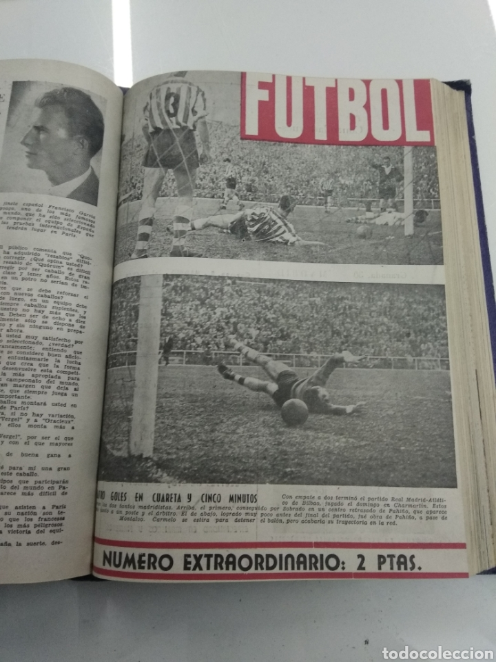 Coleccionismo deportivo: SEMANARIO DEPORTIVO POPULAR FUTBOL 1953 ENCUADERNADO N° 1 A 32p PORTADAS MUY RARO CICLISMO BOXEO ... - Foto 43 - 195128507