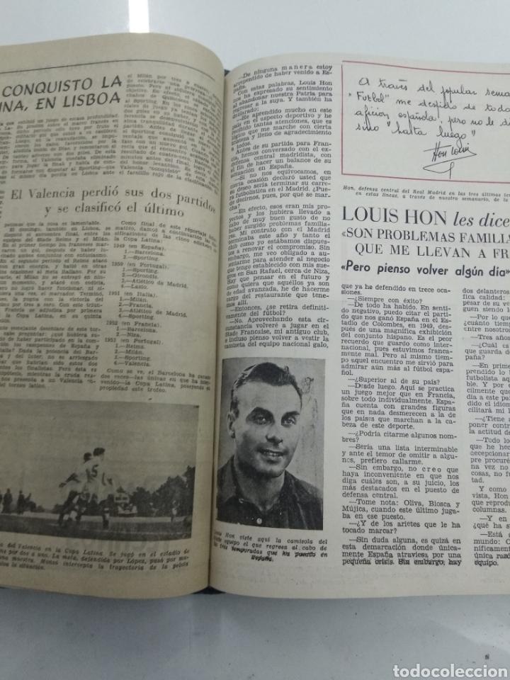 Coleccionismo deportivo: SEMANARIO DEPORTIVO POPULAR FUTBOL 1953 ENCUADERNADO N° 1 A 32p PORTADAS MUY RARO CICLISMO BOXEO ... - Foto 44 - 195128507