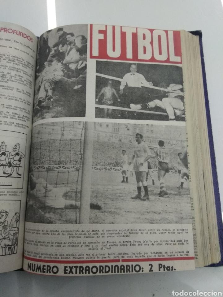 Coleccionismo deportivo: SEMANARIO DEPORTIVO POPULAR FUTBOL 1953 ENCUADERNADO N° 1 A 32p PORTADAS MUY RARO CICLISMO BOXEO ... - Foto 46 - 195128507