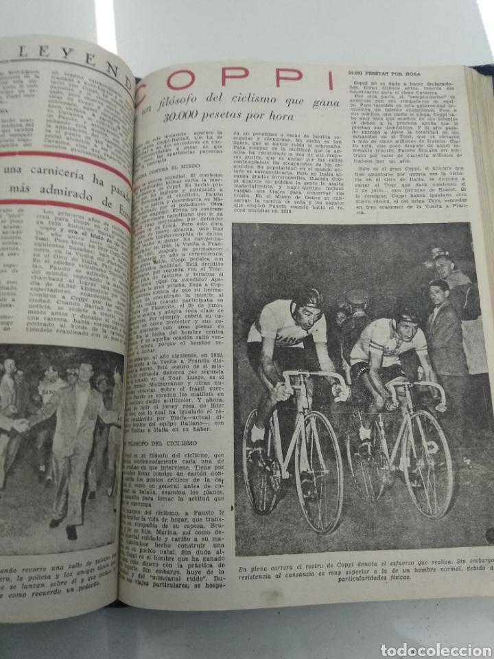 Coleccionismo deportivo: SEMANARIO DEPORTIVO POPULAR FUTBOL 1953 ENCUADERNADO N° 1 A 32p PORTADAS MUY RARO CICLISMO BOXEO ... - Foto 47 - 195128507