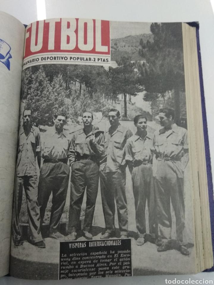 Coleccionismo deportivo: SEMANARIO DEPORTIVO POPULAR FUTBOL 1953 ENCUADERNADO N° 1 A 32p PORTADAS MUY RARO CICLISMO BOXEO ... - Foto 49 - 195128507
